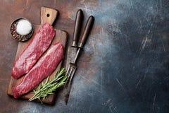 Lame ou bifteck sup?rieure crue de Denver photographie stock