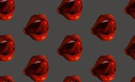Lamedura de los labios Fotos de archivo libres de regalías