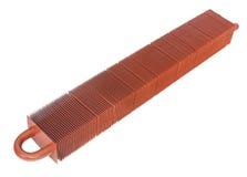 Lamellar radiator Stock Image