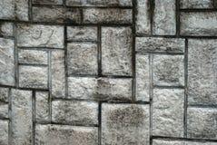 Lamellate steenmuur Stock Afbeelding