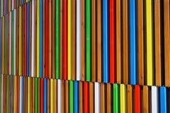Lamelles colorées Photos libres de droits