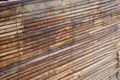Lamelles en bambou Images stock