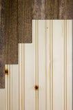 Lamelles en bois Images libres de droits
