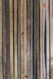 Lamelles en bois Images stock