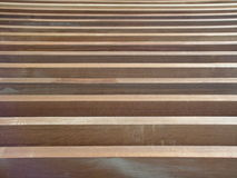 Lamelles en bois Photographie stock libre de droits