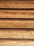 Lamelles en bois de grange Photographie stock