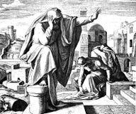Lamentaciones de Jeremiah imágenes de archivo libres de regalías
