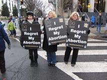 Lamentando o aborto Imagens de Stock Royalty Free