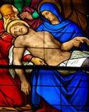 Lamentation du Christ Photos stock