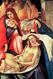 Lamentation over the Dead Christ, a Closeup Royalty Free Stock Image