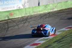 Lamera cup car - 2014 Monza 8 Hours race Royalty Free Stock Photo