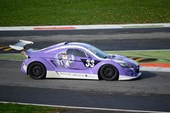 Lamera cup car nr.33 - 2014 Monza 8 Hours race Stock Photo