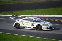Lamera cup car nr.20 - 2014 Monza 8 Hours race Royalty Free Stock Images