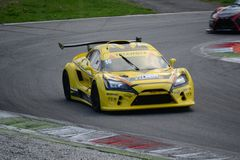 Lamera cup car nr.16 - 2014 Monza 8 Hours race Royalty Free Stock Photography