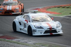 Lamera cup car nr.29 - 2014 Monza 8 Hours race Stock Photos