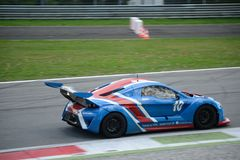 Lamera cup car nr.10 - 2014 Monza 8 Hours race Royalty Free Stock Photography