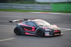Lamera cup car nr.5 - 2014 Monza 8 Hours race Royalty Free Stock Photo