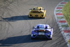 Lamera cup cars - 2014 Monza 8 Hours race Stock Image