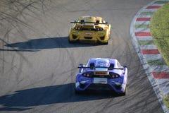 Lamera filiżanki samochody - 2014 Monza 8 godzin ściga się Obraz Stock