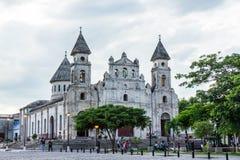 LaMerced kyrka, Granada Nicaragua royaltyfria foton