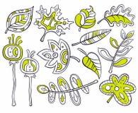 Lames décoratives illustration libre de droits