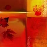 Lames d'automne illustration stock