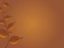 lames d'automne de fond Photos libres de droits