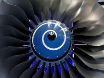Lames d'engine Images stock