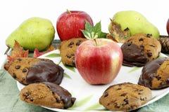 Lames de fruit de biscuits de potiron Image stock