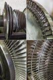 Lames de rotor de générateur photo libre de droits