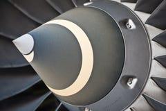 Lames de turbine  Photographie stock