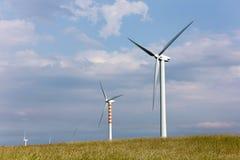 Lames de vent sur les collines douces Image libre de droits