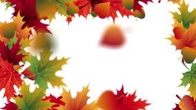 Lames en baisse d'automne illustration libre de droits