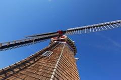 Lames en bois de moulin à vent - Holland Michigan images stock