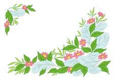 Lames, fleurs et clavettes Photos stock