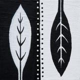 Lames noires et blanches Photographie stock