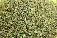Lames sèches d'origan. Photos stock