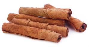 Lames sèches de tabac images stock