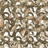 Lames vertes d'érable Feuillage floral de jardin botanique d'usine de feuille Modèle sans couture de fond Illustration Libre de Droits