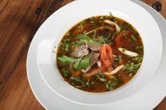 Lamian et x28 ; Lagman& x29 ; - soupe asiatique traditionnelle Photos stock
