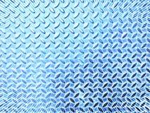 Lamiera di acciaio blu Fotografie Stock
