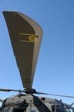 Lamierina dell'elicottero fotografia stock