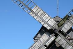Lamierine del mulino a vento Fotografia Stock