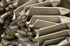 Lamierine di titanio Fotografia Stock Libera da Diritti