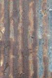 Lamina di metallo arrugginita Immagine Stock