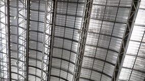 Lamina di metallo del tetto fresca Immagini Stock