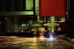 Lamina di metallo della saldatura a laser di CNC di alta precisione Fotografia Stock Libera da Diritti