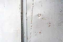 Lamina di metallo dipinta alluminio d'argento Fotografie Stock Libere da Diritti
