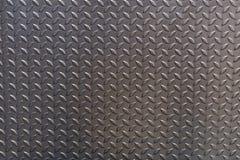 Lamina di metallo, fondo del pavimento d'acciaio Fotografia Stock Libera da Diritti