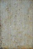 Lamina di metallo perforata Fotografia Stock